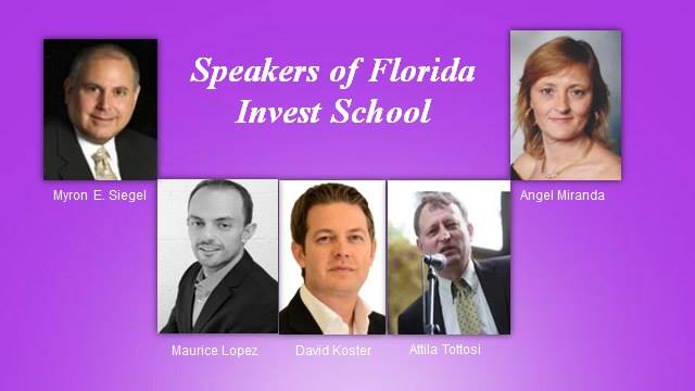 speakers of Florida Invest School
